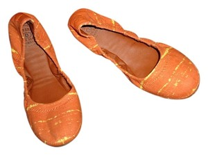 Lucky Brand Orange.yellow Flats
