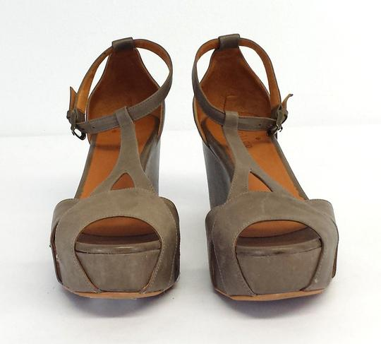 Coclico Leather Platform Wedges