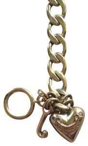 Juicy Couture Gold Panner Heart Juicy Couture Bracelet