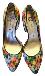 Anne Klein Floral Pumps