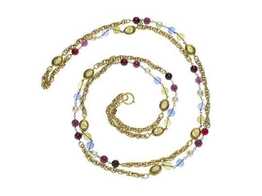 Chanel Chanel Vintage Ruby Stand Neckalce