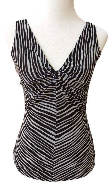 Preload https://item5.tradesy.com/images/kenneth-cole-reaction-tank-top-blackwhite-3742984-0-0.jpg?width=400&height=650