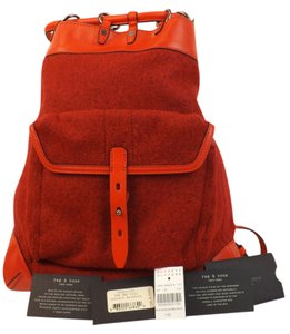 Rag & Bone Wool Leather Backpack