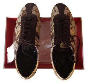 Coach Brown/Gold Athletic