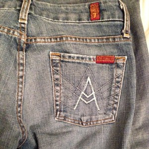7 For All Mankind 7forallmankind Designer Jeans 7's Boot Cut Pants
