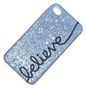 Other BRAND NEW iPhone Case 4 4s BELIEVE Silver Glitter cell phone cover