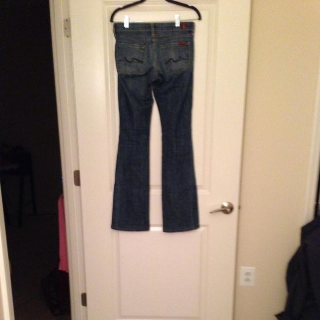 7 For All Mankind Designer Jeans 7's Boot Cut Pants