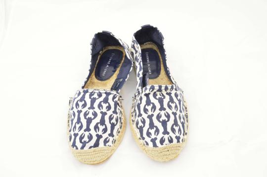 Etienne Aigner Espadrille Lobster Vacay Navy Flats
