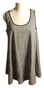 Michael Kors short dress White/Black Houndstooth on Tradesy