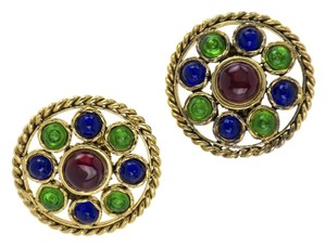 Chanel CHANEL VINTAGE SEASON 23 GRIPOIX EARRINGS