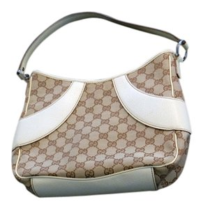 Gucci Canvas Gg Interlockin Noho Shoulder Bag