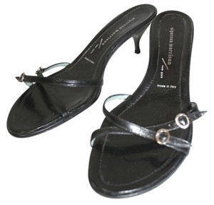 Sigerson Morrison Leather BLACK Sandals