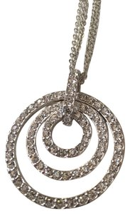 Nolan Miller Rhinestone Circle Necklace