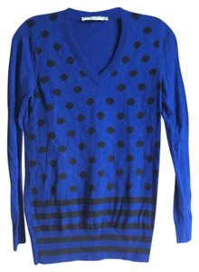 Ann Taylor LOFT Polka Dot Light Weight Sweater
