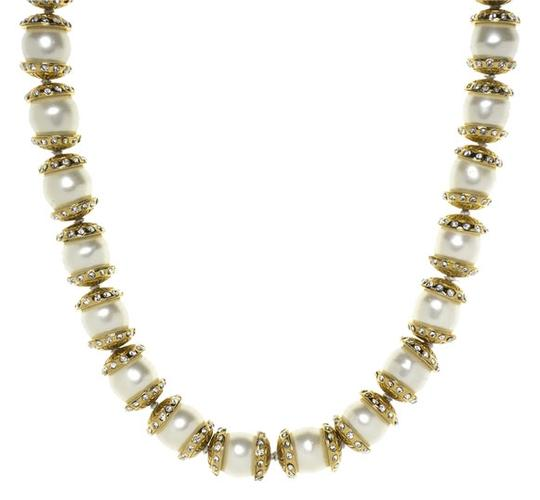 Chanel Chanel Pearl Gripoix Necklace