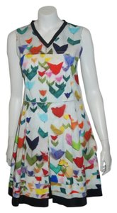 Jil Sander short dress multicolor on Tradesy