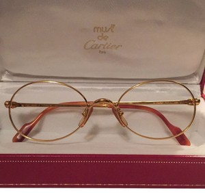 Cartier Cartier 18k Women's Hand Crafted In France Frames for Glasses or Sunglasses