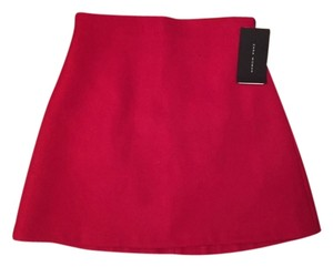 Zara Mini Skirt Red