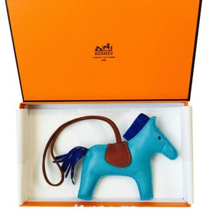 Hermès Hermes Rodeo Horse MM Size In Blue
