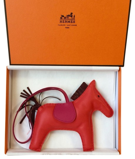 Hermès Hermes Rodeo Horse GM Size In Red