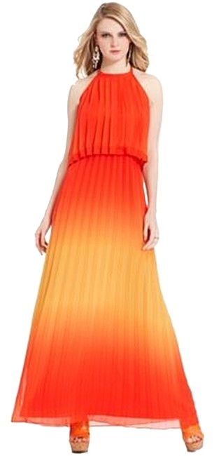 Preload https://item5.tradesy.com/images/jessica-simpson-orange-tiered-pleated-ombre-halter-long-casual-maxi-dress-size-6-s-3746734-0-0.jpg?width=400&height=650