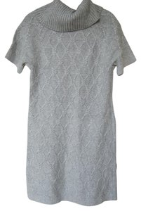 Banana Republic short dress Grey Sweater on Tradesy