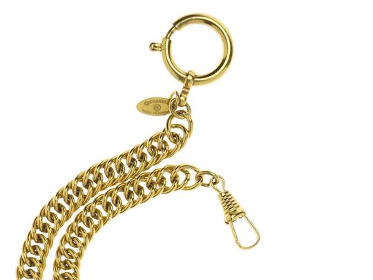 Chanel Chanel Vintage Quilted Magnifying Spyglass Glass Necklace