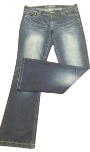 Maurices Boot Cut Jeans-Distressed