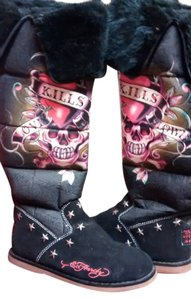 9cd988c4940 Ed Hardy Boots & Booties Up to 90% off at Tradesy
