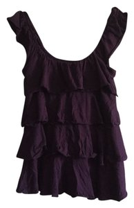 Express Eggplant Purple Tank Top Plum