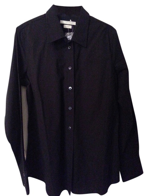 Preload https://item5.tradesy.com/images/old-navy-black-new-button-down-top-size-12-l-3747454-0-0.jpg?width=400&height=650