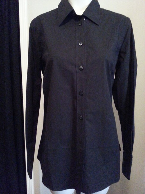 Old Navy Button Down Shirt Black