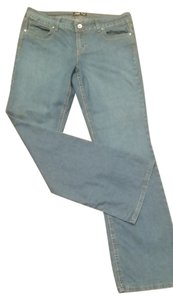L.E.I. Boot Cut Jeans-Medium Wash