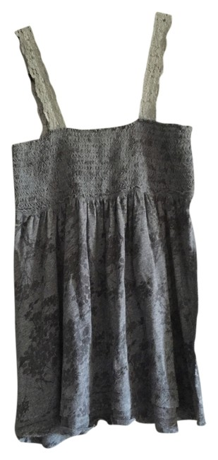 Abercrombie & Fitch Lace Top Gray