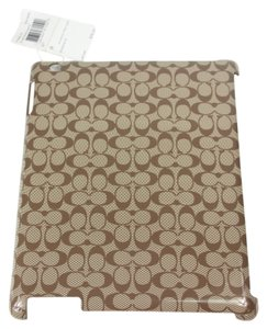 Coach * Coach iPad Mini Molded Case - Brown