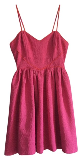 Preload https://item3.tradesy.com/images/cooperative-pink-women-s-sweetheart-embossed-texture-mid-length-cocktail-dress-size-4-s-3747892-0-0.jpg?width=400&height=650