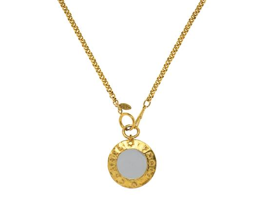 Chanel Chanel Gold Mirror Necklace