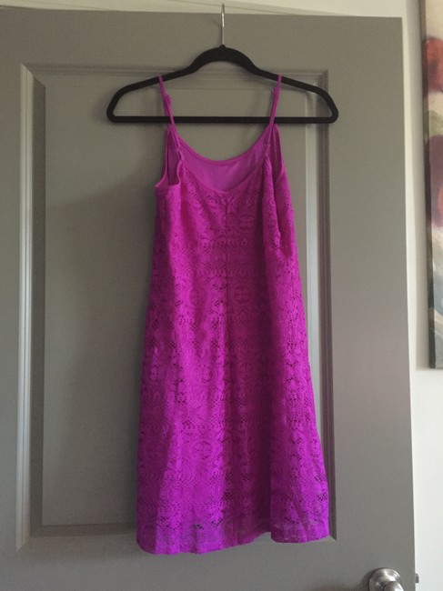 Love, Fire short dress Neon Purple Neon Neon Lace on Tradesy