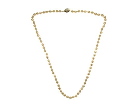 Chanel Chanel Vintage Ivory Faux Pearl Necklace