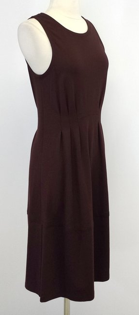 Theory short dress Brown Knit Sleeveless on Tradesy