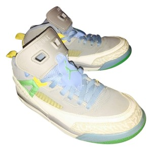 Air Jordan Grey baby blue & green Athletic
