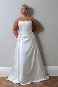 Callista Ivory 4093 Dress Size 18 (XL, Plus 0x)