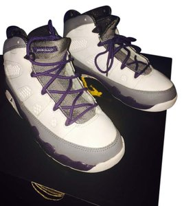 Air Jordan Grey white purple Athletic
