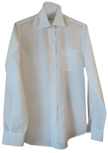 Faoçnnable For Albert Goldberg Button Down Shirt White