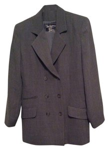 Burberry Gray Blazer