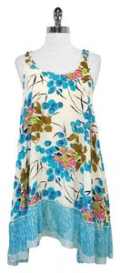 A.B.S. by Allen Schwartz short dress Floral Silk Sleeveless on Tradesy