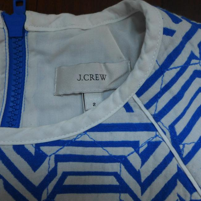 J.Crew Pattern Quilted Sweater