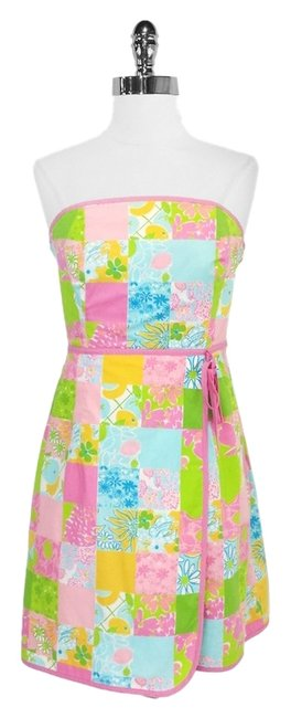 Lilly Pulitzer short dress Cotton Wrap on Tradesy