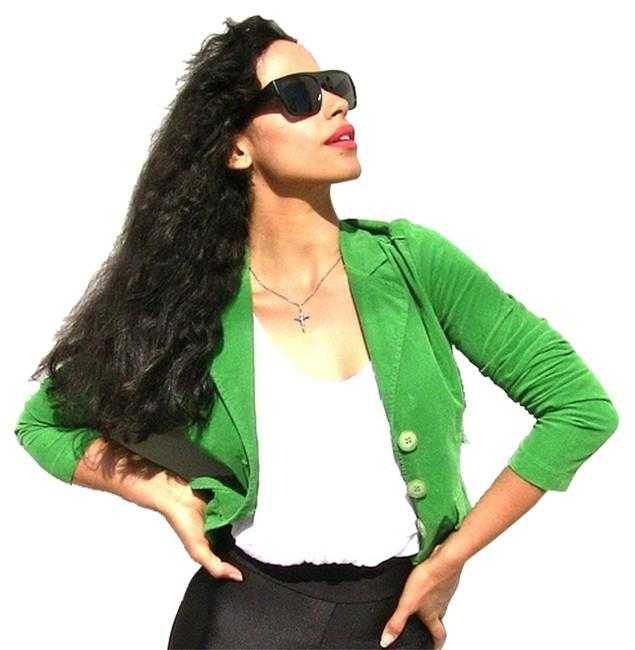 Dolled Up green Jacket