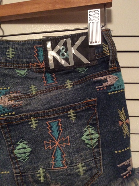 Kendall + Kylie Shorts Multicolor